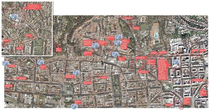 Karta crkvenih potraživanja u Zagrebu