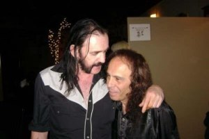Lemmy (Motorhead) i Ronnie James Dio