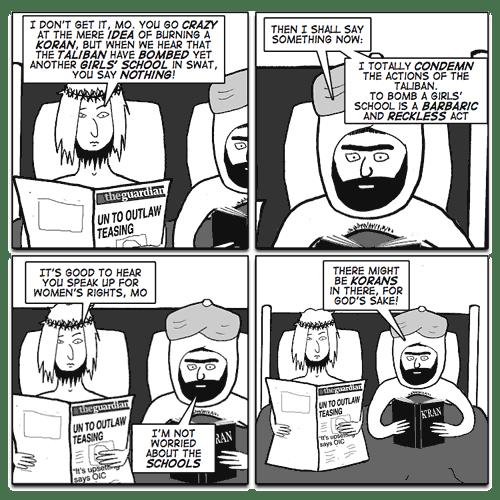 Jesus and Mo: bomb