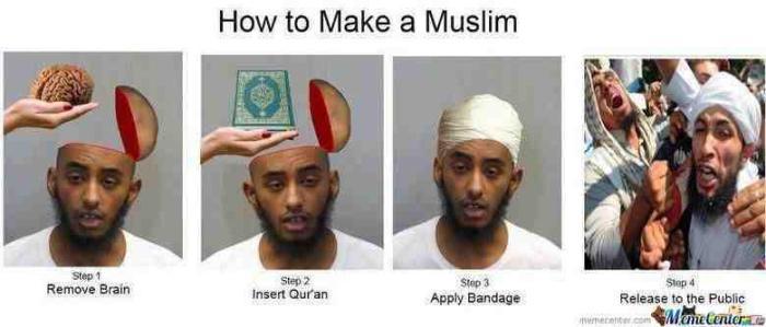 Kako napraviti muslimana